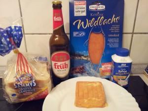 Welsh au saumon fumé et maroilles_Ingrédients
