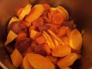 Ingrédients_Soupe de patates douces au chorizo