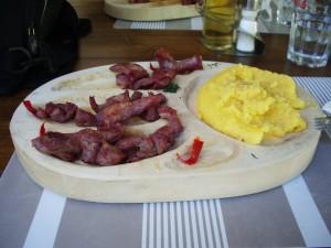 Polenta roumaine
